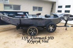 15ft Aftermath High and Dry w/Kryptyk Fiberglass Veil #2