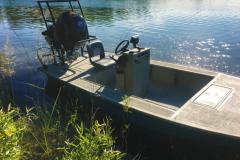 16ft Flats Boat #1