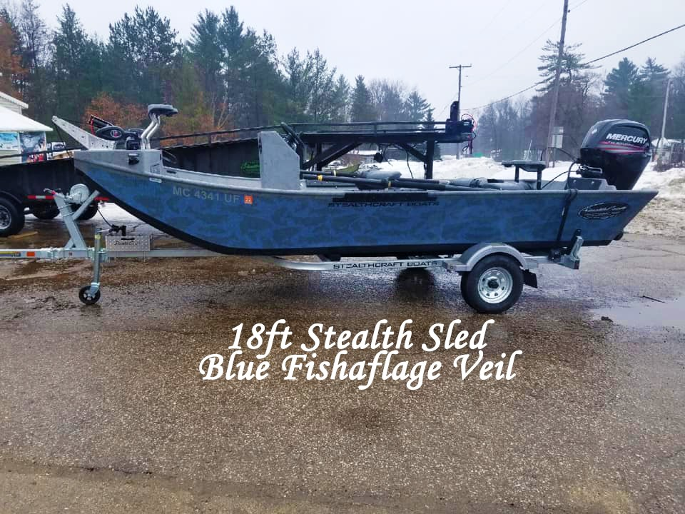 Stealth Sled - Jet Sled | Stealth Craft Boats