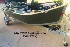 16ft UFO with Removable Bass Deck