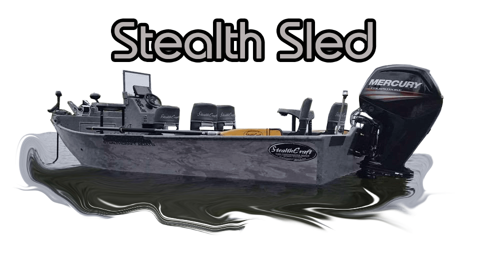 Stealth Sled - Jet Sled   Stealth Craft Boats