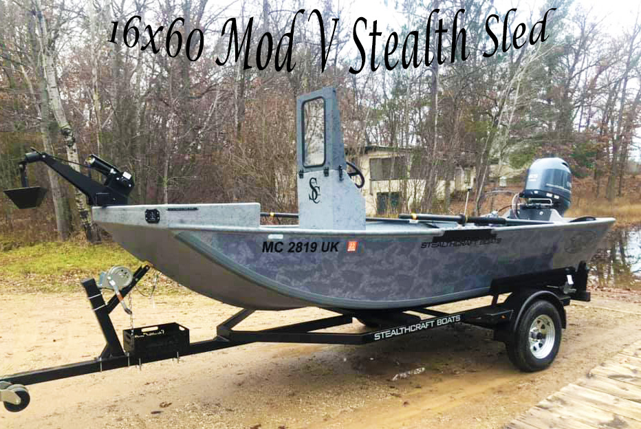 16x60 Mod V Stealth Sled
